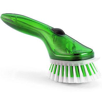 《CUISIPRO》好清潔噴噴尼龍刷(綠)