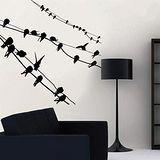 【ORIENTAL創意壁貼】Birds on wires