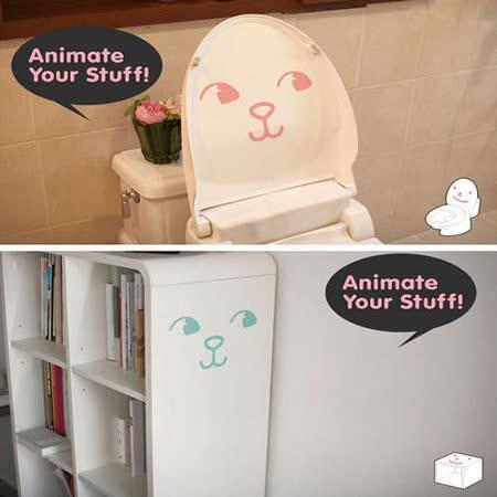 【ORIENTAL創意壁貼】Comic cat