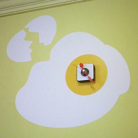 【ORIENTAL創意壁貼】Egg clock