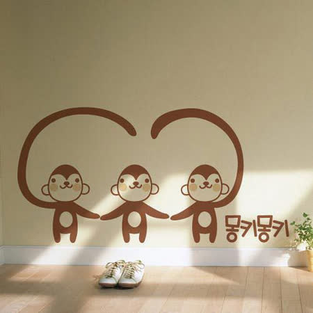 【ORIENTAL創意壁貼】Monkey
