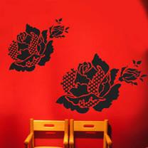 【ORIENTAL創意壁貼】Romantic rose - A