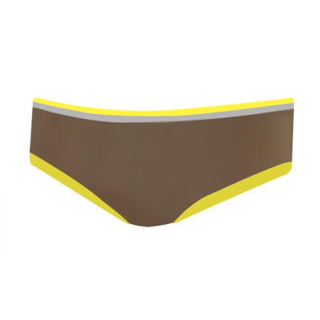 【曼黛瑪璉】F6472 峰尚-未來褲  低腰寬邊三角無痕褲(鞍褐色)