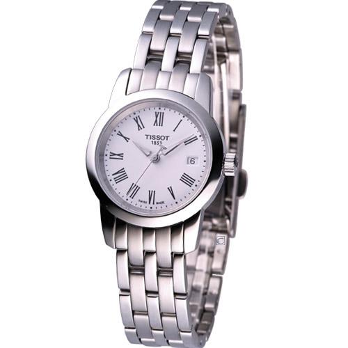 TISSOT 尊爵超薄女用時尚腕錶T0332101101300