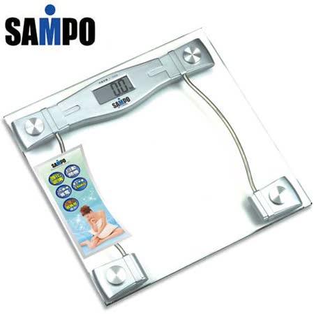 熱銷款!! 聲寶SAMPO-造型電子體重計(BF-L904ML)