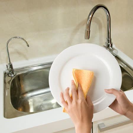 【任選】【JoyLife】超值3入巧易潔長毛絨洗碗布單包3入