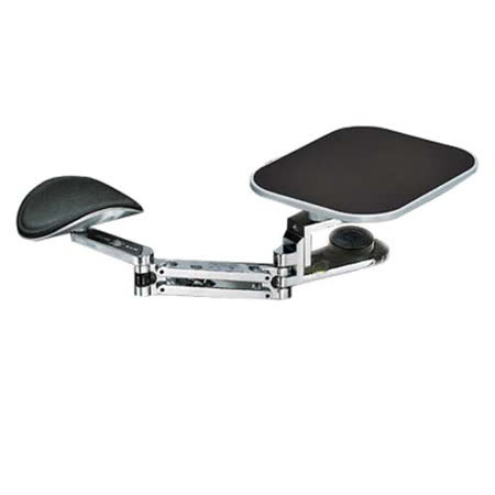 Arm-Stand鋁合金豪華護手臂(含鼠墊)