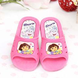 ~童鞋城堡~朵拉粉色Dora女童拖鞋^~ ^~DR1480