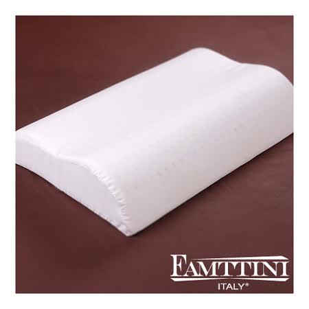 【Famttini】頂級工學透氣乳膠枕-1入
