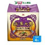 《統一》滿漢大餐珍味牛肉麵*12包(箱)