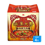 《統一》滿漢大餐麻辣鍋牛肉麵*12包(箱)