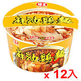 味王麻油雞麵85g*12碗(箱)