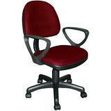 《諾唯》透氣網布扶手電腦椅/辦公椅-紅