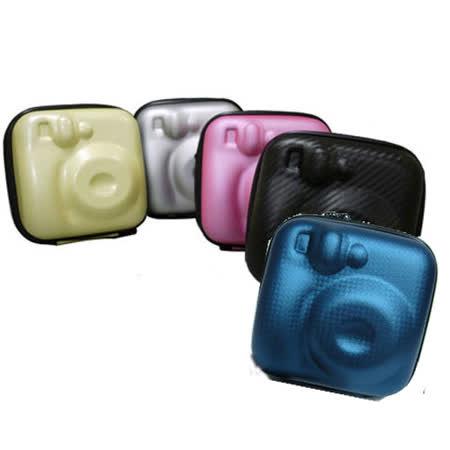 拍立得造型硬殼相機包-加送相機清潔組+螢幕保護貼+小腳架+拭鏡布