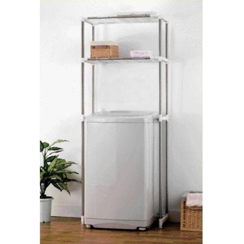 【LIFECODE】聰明媽咪-可伸縮洗衣機置物架馬桶置物架