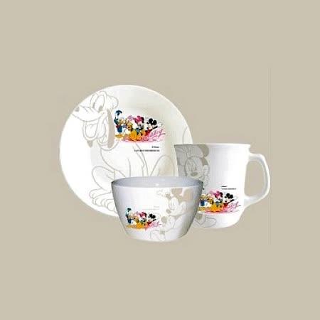 米奇家族杯盤碗三件套組 (DSM-2163)