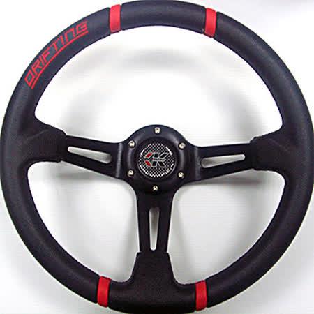 ESPER 4125C 大凹黑支架紅 350mm 改裝方向盤