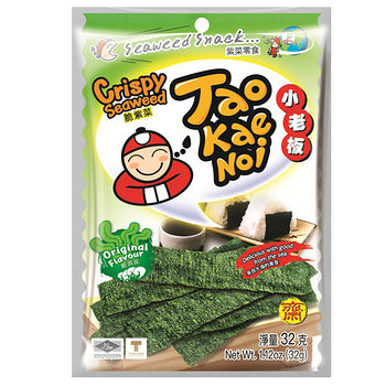 泰國小老板厚片海苔-經典原味32g