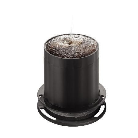 Tiamo UFO-180 不鏽鋼 滴漏濾杯 濾網 1-2人份 (黑) 環保 HG2309