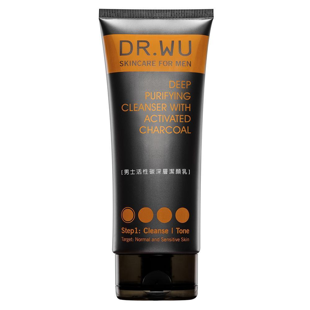 DR.WU 男士活性碳深層潔顏乳