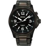 SEIKO 都會型男Kinetic人動電能腕錶(5M62-0CH0K)-IP黑
