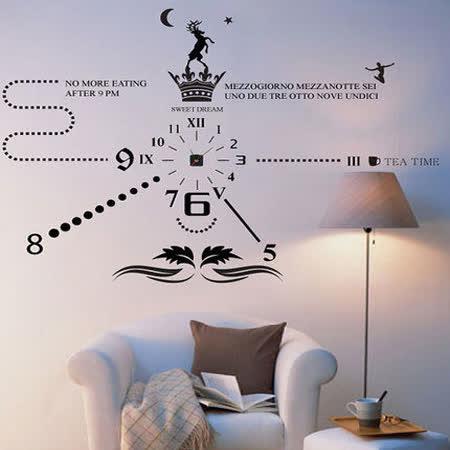 Art STICKER璧貼 ● 獨家時尚時鐘-B