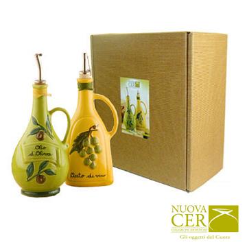 油醋禮盒(綠瓶油/黃瓶醋)