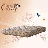 硬式頂級緹花彈簧床墊3.5尺(單人)