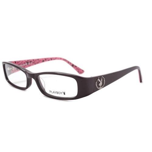 PLAYBOY~ 光學眼鏡 ^(共黑.深紫紅2色^)PB85112