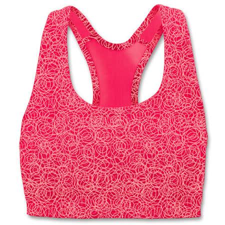 限量Champion運動內衣【6995A】印花系列˙紅色˙中支撐˙超值選擇