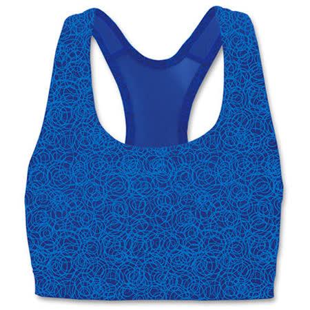 限量Champion運動內衣【6995A】印花系列˙藍色˙中支撐˙超值選擇