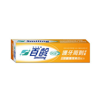百齡護牙周到牙膏-美白配方110g