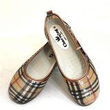 日本格紋娃娃雨鞋