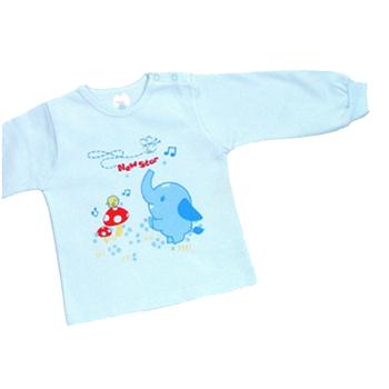 【聖哥-Newstar】MIT100%純棉-厚款幼兒長袖內衣(肩釦、細絨裡層)-媽咪推薦好穿!