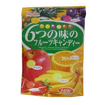 雷根綜合水果糖140g