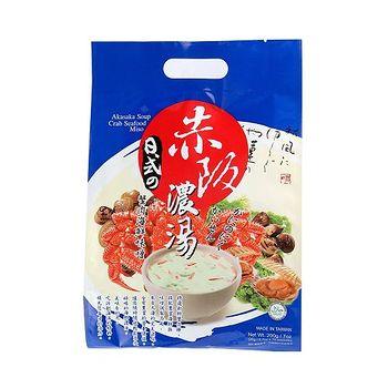 廣吉赤阪濃湯-蟹肉海鮮味噌20g*10包