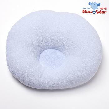【聖哥-明日之星Newstar】MIT 人氣嬰兒枕/超Q圓枕~ 圓凹設計保護頭部 推車/嬰兒床/外出攜帶全部OK
