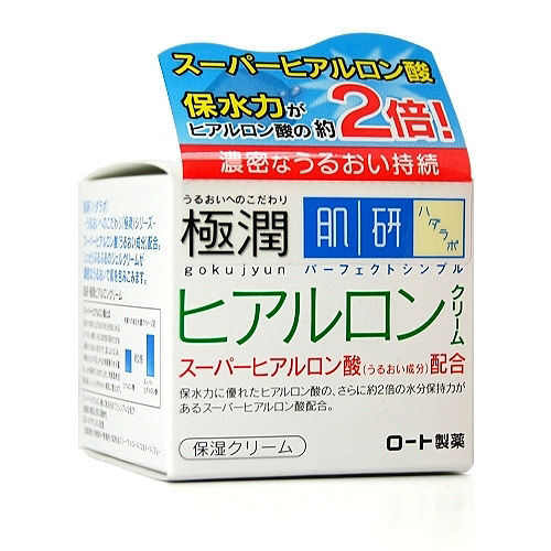 ROHTO肌研 玻尿酸超保濕乳霜50g