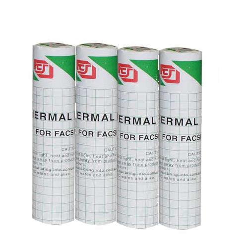 傳真機 感熱紙 216mm x 30m x 0.5A (4入)