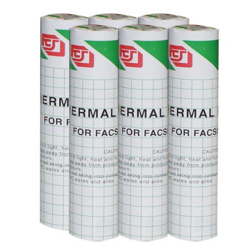 傳真機 感熱紙 216mm x 30m x 0.5A(6入)
