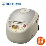 (日本製)TIGER虎牌6人份1鍋3享微電腦炊飯電子鍋(JBA-T10R)買就送虎牌360cc彈蓋式保溫杯(隨機出貨)