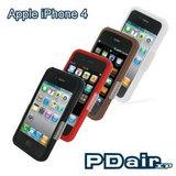 Apple iPhone 4 專用PDair高質感軟質保護殼