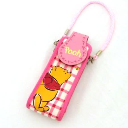 日本小熊維尼手機袋