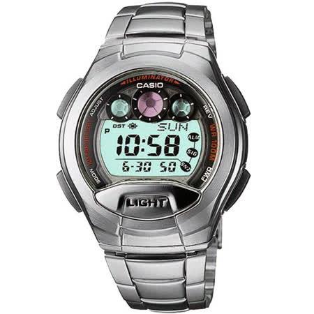 CASIO戰慄位元數位錶