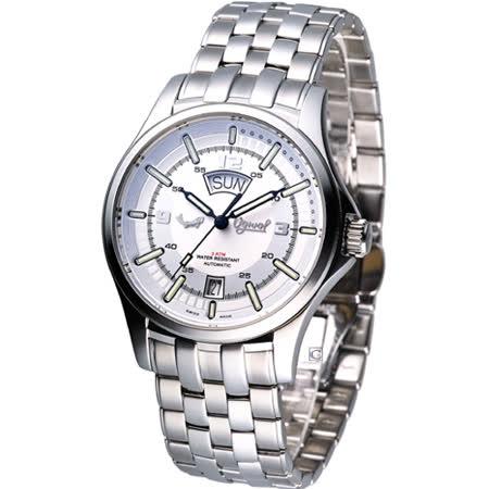 Ogival 夜鷹系列  時尚機械腕錶829-02AMS