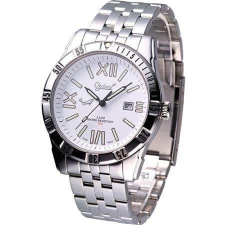 Ogival 夜鷹系列  自體發光魅力腕錶8001TMS