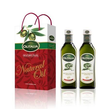 Olitalia奧利塔超值特級冷壓橄欖油禮盒組(500mlx6)