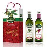 Olitalia奧利塔特級冷壓橄欖油+葡萄籽油禮盒組 500mlx2