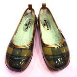 日本新格紋娃娃雨鞋