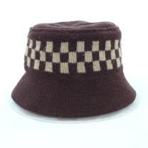 日本毛料帽咖/黑/酒紅
